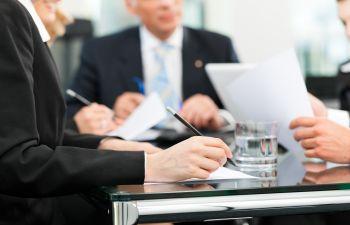 Business Meeting Job Interview